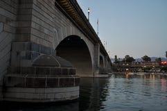 Die London-Brücke von Lake Havasu stockfotografie