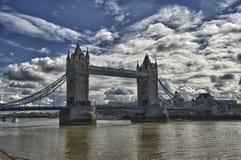 Die London-Kontrollturm-Brücke Lizenzfreie Stockfotografie