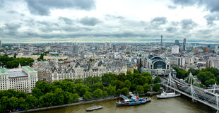 Die London-Skyline stockfoto