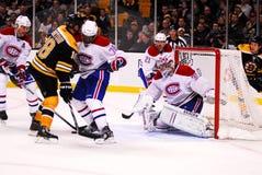 Die älteste Rivalität des Hockeys Stockbilder