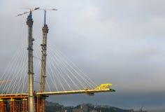 Die Luftentweichenbrücke Lizenzfreie Stockfotografie