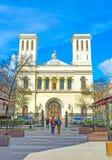 Die lutherische Kirche von St Peter und von St Paul Stockfoto