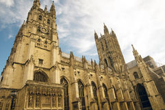 Die mächtige Kathedrale Stockbild