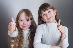 Die Mädchenshowklasse Stockfotografie