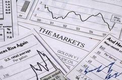 Die Märkte Stockbild