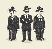 Die Mafia Lizenzfreie Stockbilder