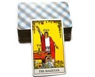 Die Magie-Steuerung Magier-Tarot Card Powers Intelect Stockbilder
