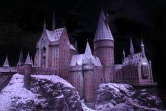 Die Magie von Hogwarts-Schloss stockbild