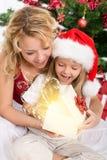 Die Magie von Weihnachten Stockbild