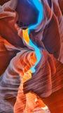 Die magische Antilopen-Schlucht, Arizona Stockfotos