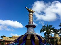 Die magischen Teppiche von Aladdin Lizenzfreie Stockfotografie