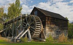 Die Mahlgut-Mühle bei Keremeos Lizenzfreies Stockfoto
