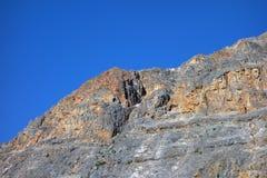 Die majestätischen felsigen Berge in Kanada Lizenzfreies Stockfoto