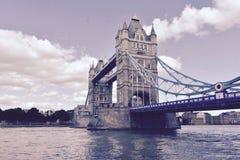 Die majestätischen Turmbrücken Lizenzfreie Stockbilder