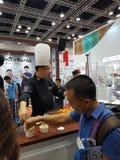 Die malaysische Messe des Lebensmittel-u. Getränkeinternationalen handels an KLCC Stockbilder