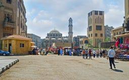 Die malerische arabische Stadt Lizenzfreies Stockfoto
