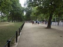 Die Mallallee, London Lizenzfreies Stockbild