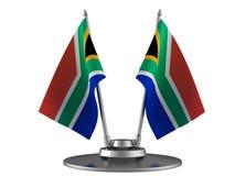 Die Markierungsfahne Südafrika lizenzfreie abbildung