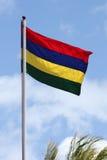 Die Markierungsfahne von Mauritius Lizenzfreies Stockbild