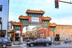 Die Markstein alte Stadt Chinatown in Portland, Oregon Es ist liste Lizenzfreies Stockfoto