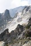 Die Marmor-Steinbrüche Stockfotos