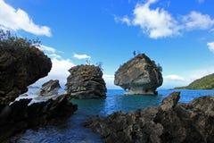 Die Marmorkathedralenkapelle, Capillas De Marmol, Puerto Tranquilo, Chile lizenzfreie stockfotografie