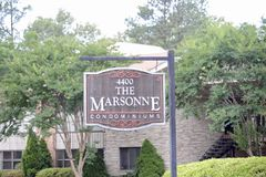 Die Marsonne-Eigentumswohnungen Memphis, TN Stockfoto
