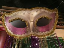 Die Maske Stockfoto