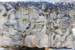 Die Mayaruinen von Copan Stockfoto