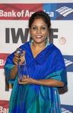 die Medien-Grundlagen-Mut der 27. jährlichen internationalen Frauen in den Journalismus-Preisen Lizenzfreie Stockfotos