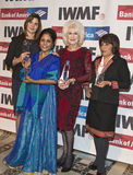 die Medien-Grundlagen-Mut der 27. jährlichen internationalen Frauen in den Journalismus-Preisen Stockfoto