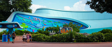 Die Meere bei Epcot, Orlando, Florida Lizenzfreie Stockfotos