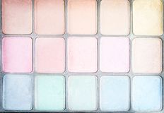 Die Mehrfarben Draufsichtbeschaffenheit bilden Musterhintergrund stockfotografie