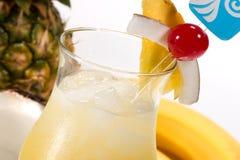Die meiste populäre Cocktailserie - Pina Colada Lizenzfreie Stockfotos