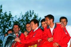 Die Meister von Europa 2005 Stockfotografie