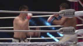 Die Meisterschaft auf Kämpfen ohne Regeln M-1 stock footage