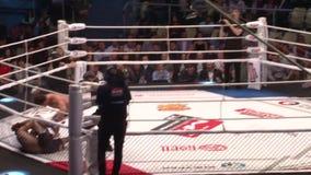 die Meisterschaft auf Kämpfen ohne Regeln M-1, in der Stadt von Orenburg 26. Mai stock footage