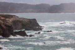 Die Mendocino-Küste Stockbilder