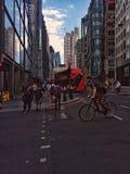 Die Menge in Straße Londons Liverpool Stockbilder