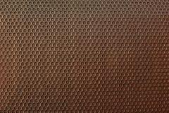 Die Metallmasche Hintergrund Beschaffenheit Bronzeschatten Lizenzfreies Stockfoto