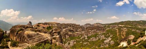 Die Meteora Reichweite Stockfotografie