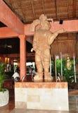 Die mexikanische Skulptur. Lizenzfreies Stockbild