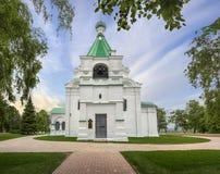 Die Michael-Erzengel-Kathedrale Nizhny Novgorod Russland Stockbilder