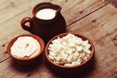 Die Milchprodukte lizenzfreies stockfoto