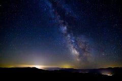 Die Milchstraße, Washington State lizenzfreie stockbilder