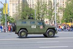 Die Militärparade in Moskau 2011 Stockfotografie