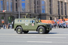 Die Militärparade in Moskau 2011 Stockbilder