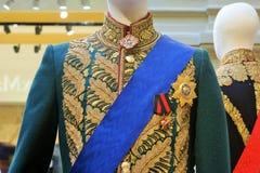Die Militäruniform eines russischen Offiziers Lizenzfreie Stockfotografie