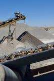 Die Minenindustrie Stockbild