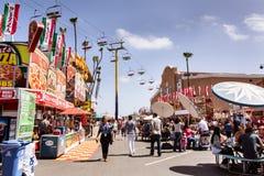 Die Mitte an der Messe Lizenzfreie Stockfotos